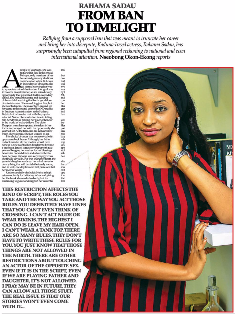 actress:rahma_sadau:rahama_sadau_featured_in_thisday_newspapers_sunday_6th_november_2016_.png