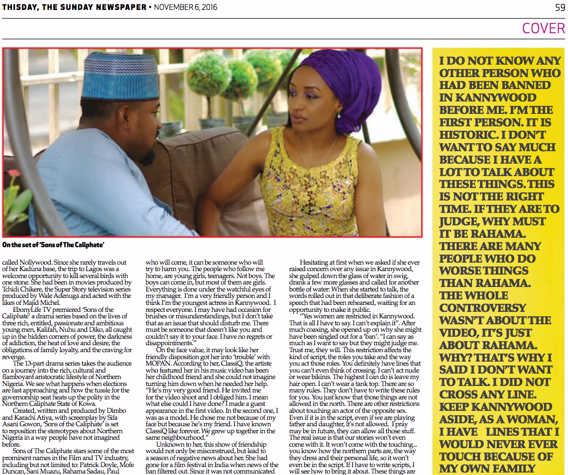actress:rahma_sadau:rahama_sadau_featured_in_thisday_newspapers_sunday_6th_november_2016_2.png